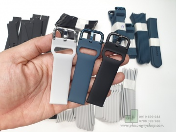 Dây cao su ZIN Galaxy Active - chốt thông minh (20mm)
